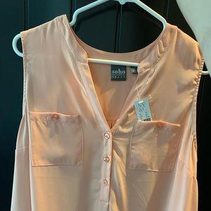 Peach Dress Tank